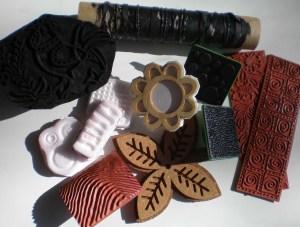 Stamp samples