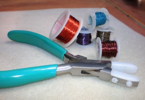 Wire spools & pliers