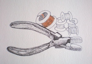 Pliers drawing