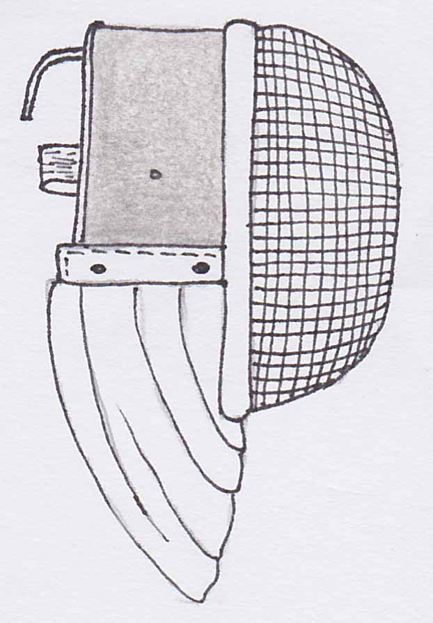 Fencing Helmet Drawing   www.pixshark.com - Images ...