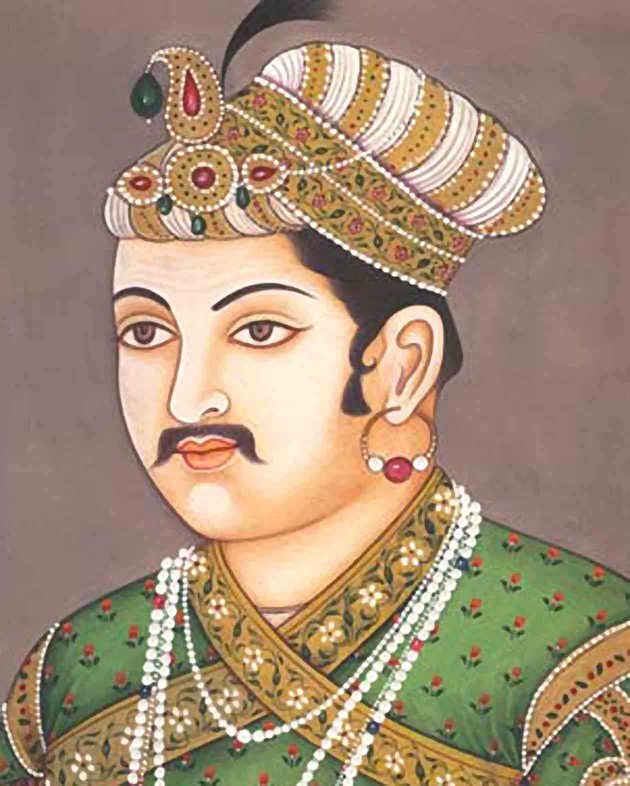 Biography of king akbar