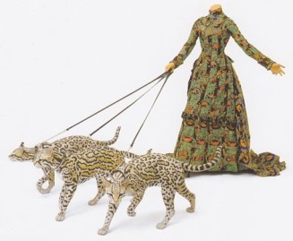 Leisure Lady (with ocelots) 2001