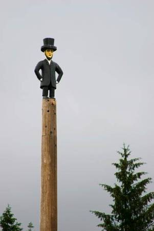 Abraham Lincoln totem