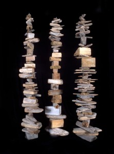 Driftwood Totems