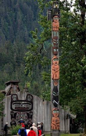 Eagle clan totem