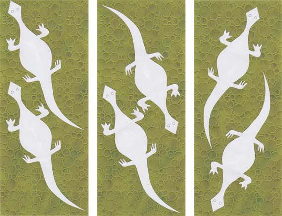 Gecko cutout multiple