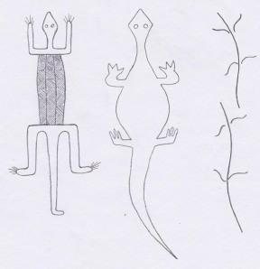 geckos stylised
