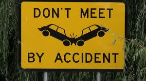 Sign - accident