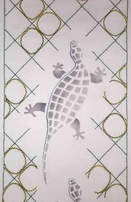 Lizard part pattern