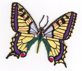 Butterfly-cut-out