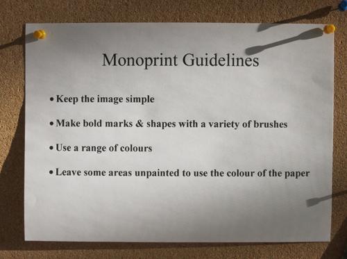 Monoprint-rules