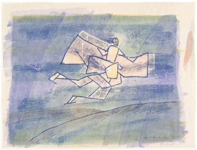 Ludwig Hirschfeld-Mack. Flying (1951)