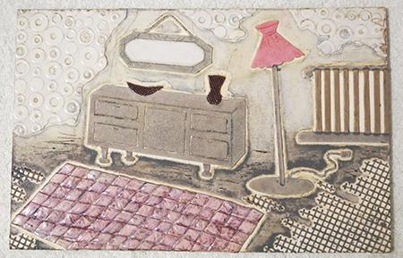 1950s print plate