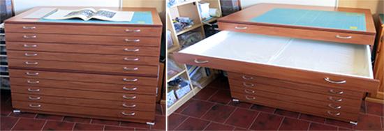 Plan-drawers