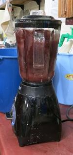 dyed-banana-pulp-blending